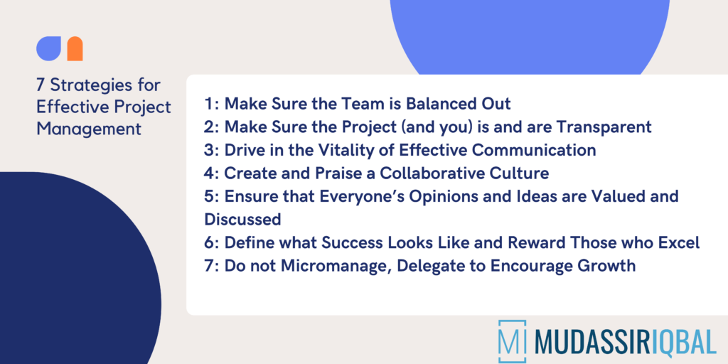 7 Strategies for Effective Project Management