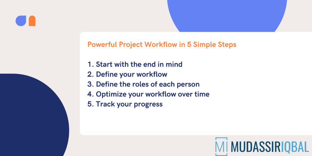 Powerful Project Workflow in 5 Simple Steps